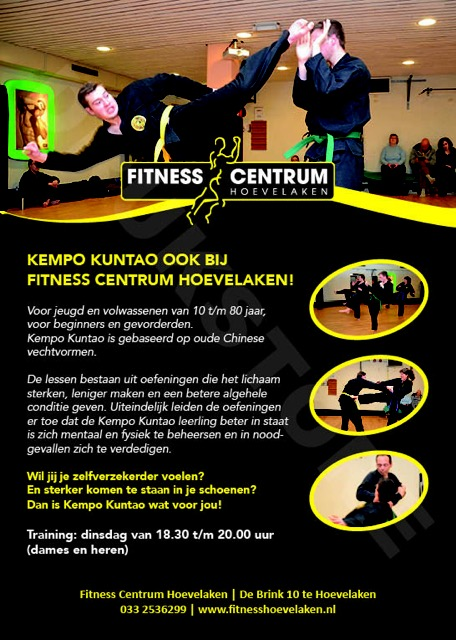 Flyer_Fitness HoevelakenKempo